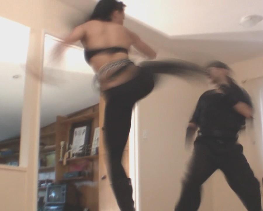 kung fu woman