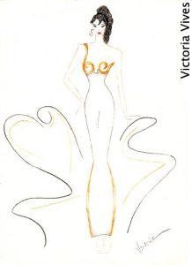 art fashion design gold