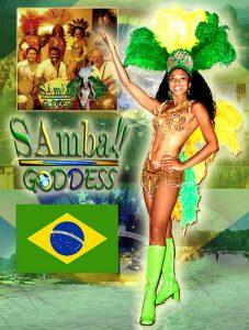 Brazil Samba Goddess