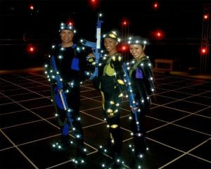 Warrior Motion capture