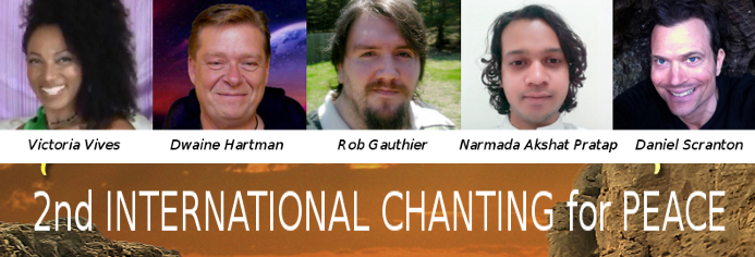 2nd INTERNATIONAL CHANTING for PEACE & LAUGHTER!