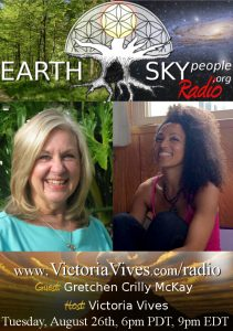 Gretchen Crilly McKay on Earth Sky People Radio
