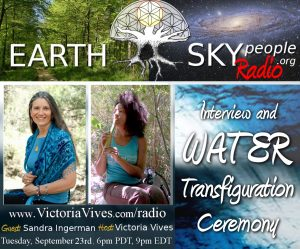 Sandra Ingerman Water Transfiguration Ceremony