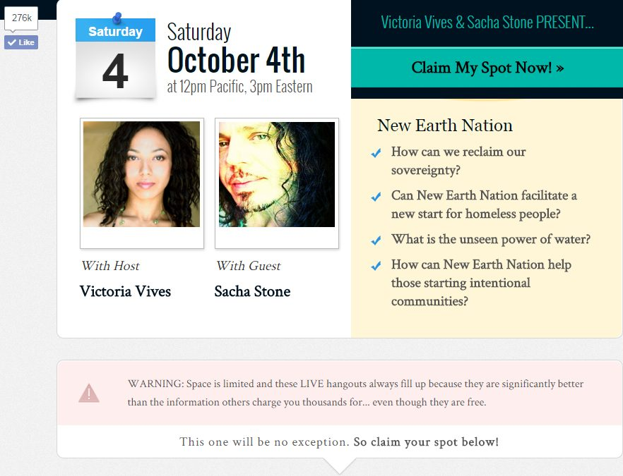 Get the Link ~ Interview with Sacha Stone / New Earth Nation!