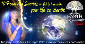 Earth Sky People Radio fall in love with life