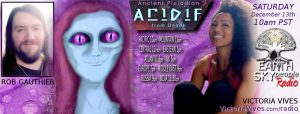 Aridif, Pleiadian channeled by Rob Gauthierr