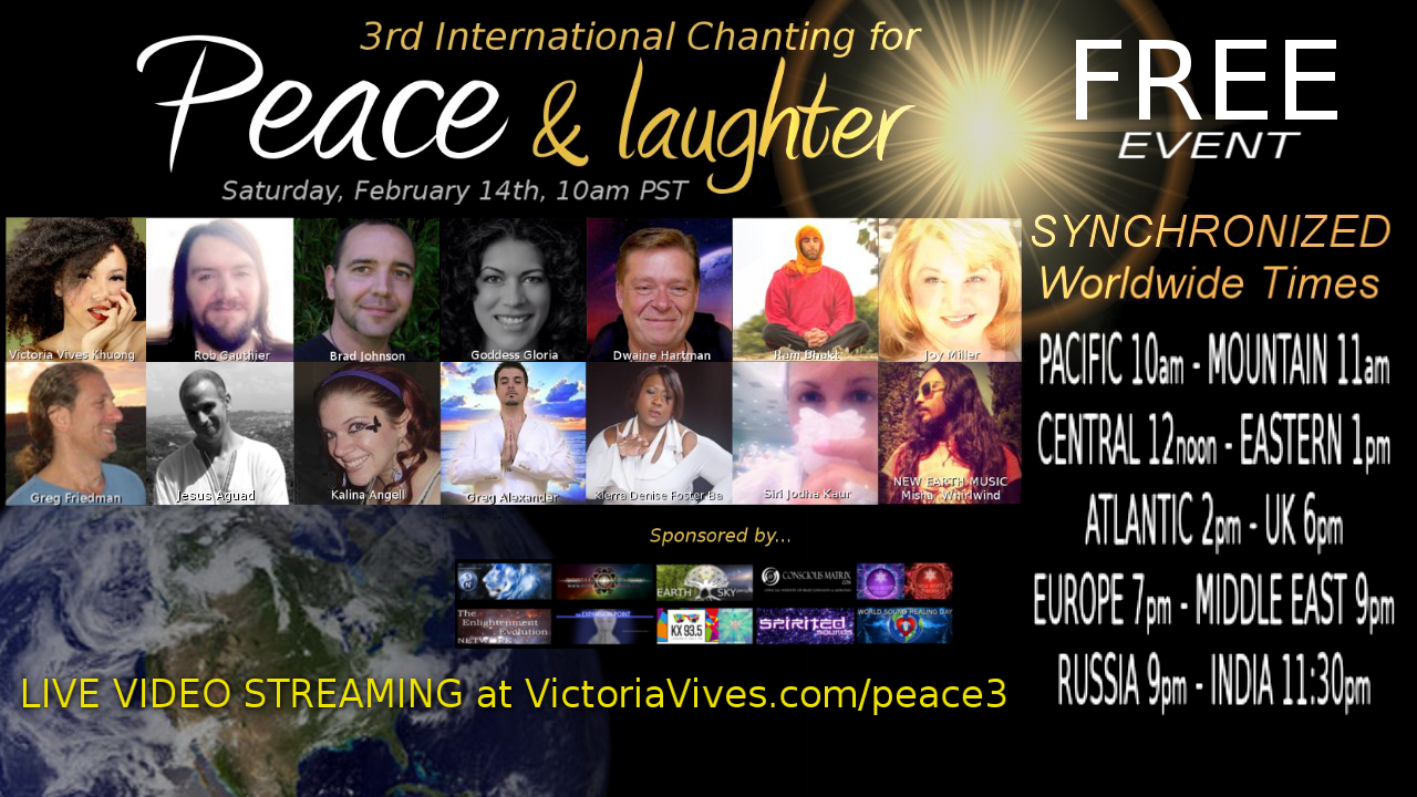 3rd International Chanting Peace Laughter