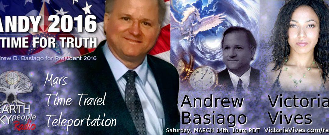 Andrew Basiago ~ TELEPORTATION, Time Travelling, Life on Mars