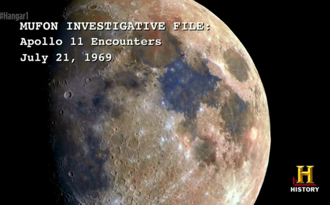 HISTORY CHANNEL ~ The true story about humankind's presence in the MOON?