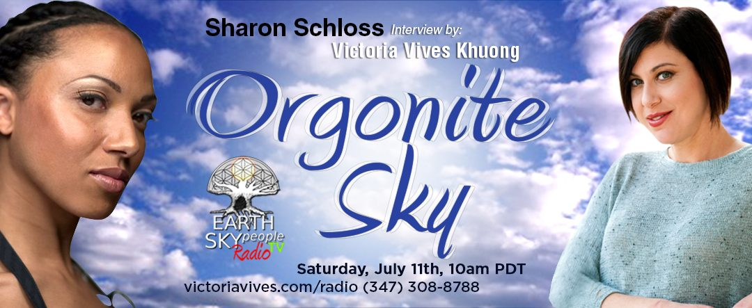 Sharon Schloss ~ ORGONITE SKY