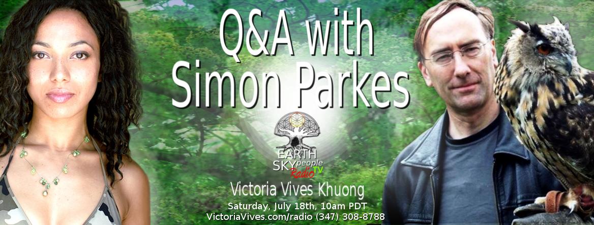 Simon Parkes, Experiencer of Aliens