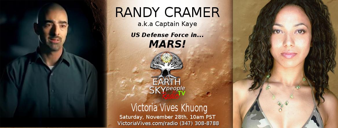 RANDY CRAMER a.k.a Captain Kaye