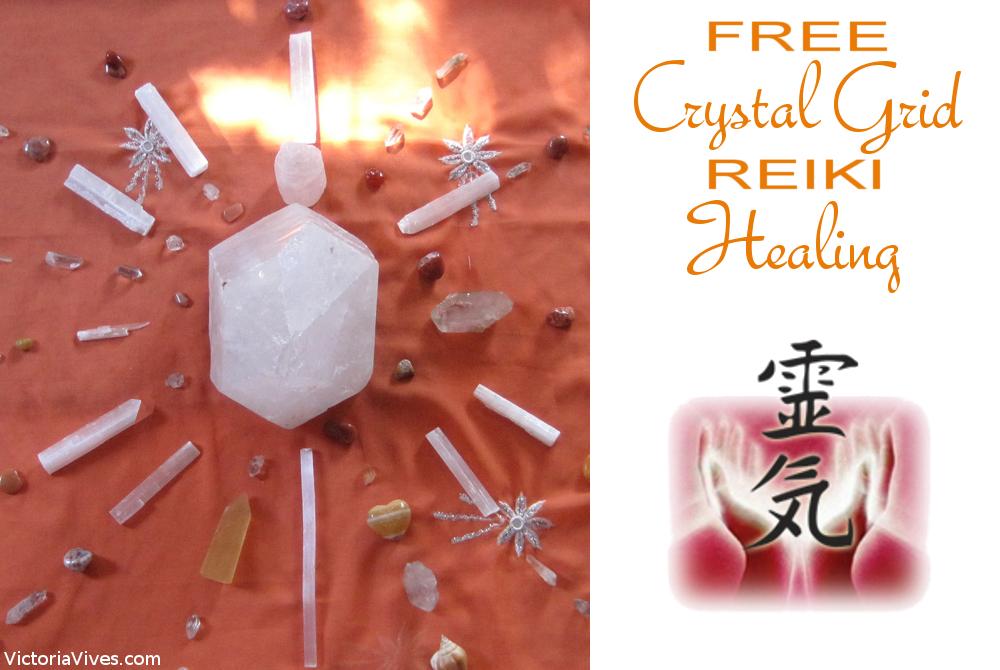 FREE Crystal Grid REIKI Distance Healing!