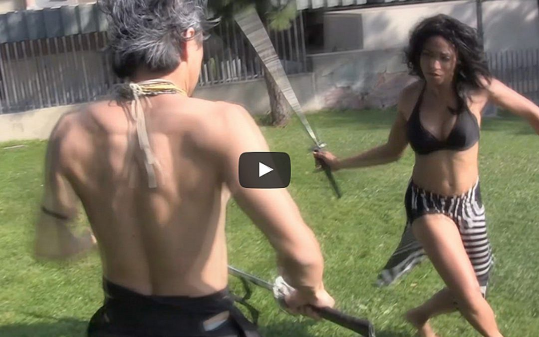 Victoria Vives Khuong Martial Arts Weapons