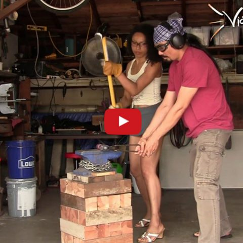 Forging a Hammer…  THOR!!!!