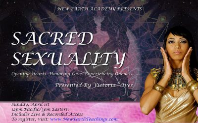 Sacred Sexuality w/ Victoria Vives ONLINE Workshop