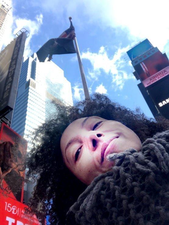 Victoria Vives in New York