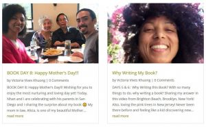 Victoria Vives blog posts and updates