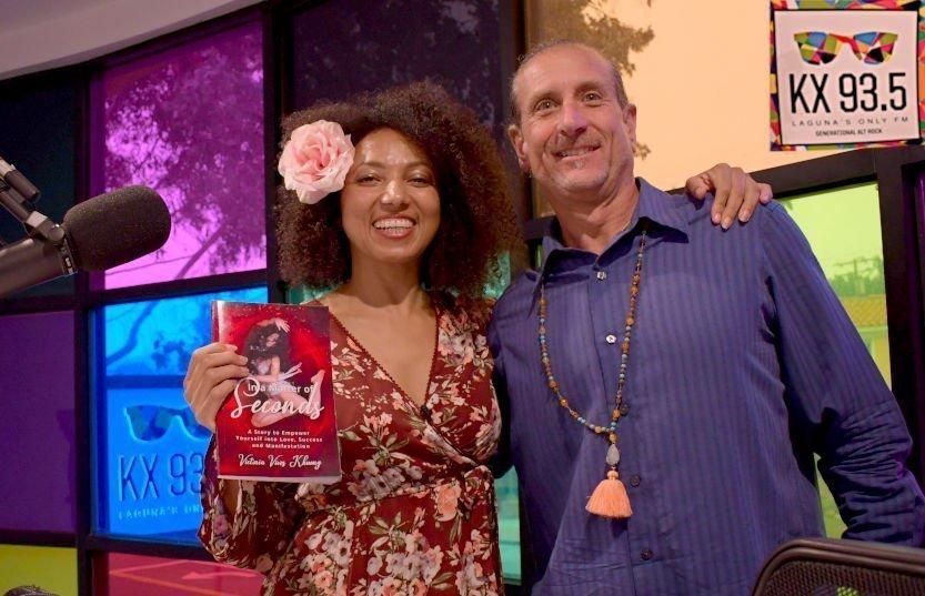 Victoria's Interview at Laguna Beach Radio