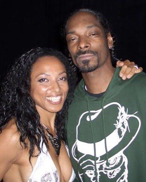 Victoria Vives Meets Snoop Doggy Dogg