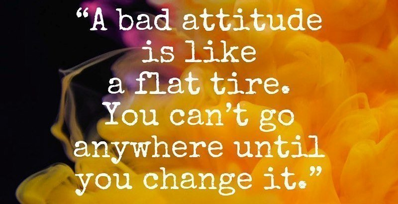 Self Awareness and Openness Change a Bad Attitude