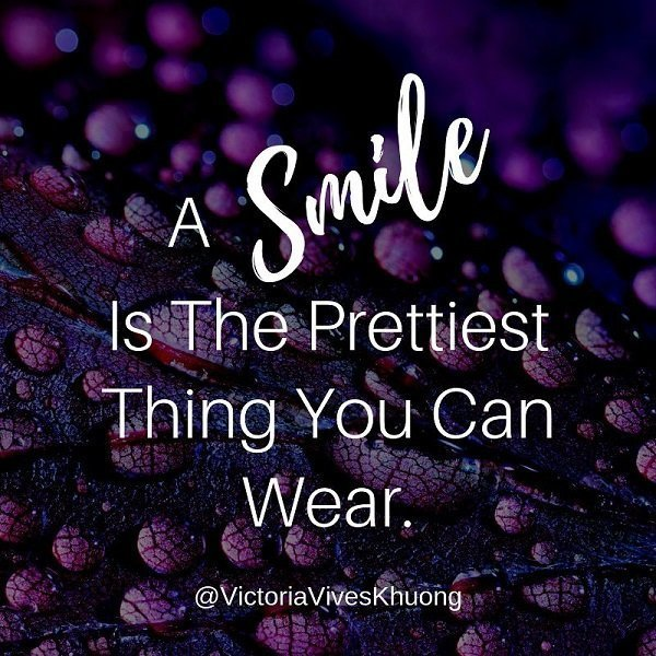 Smile Quote Prettiest Thing