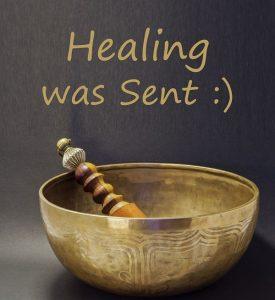 Victoria Vives - Healing was Sent
