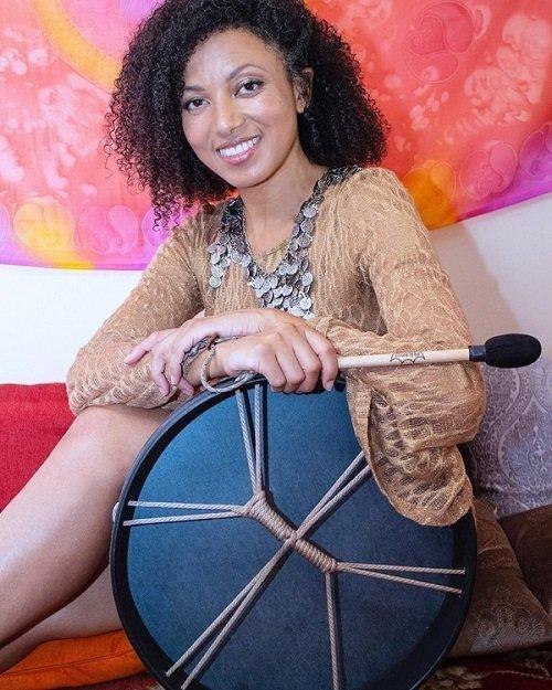 Victoria Vives Shamanic Drum