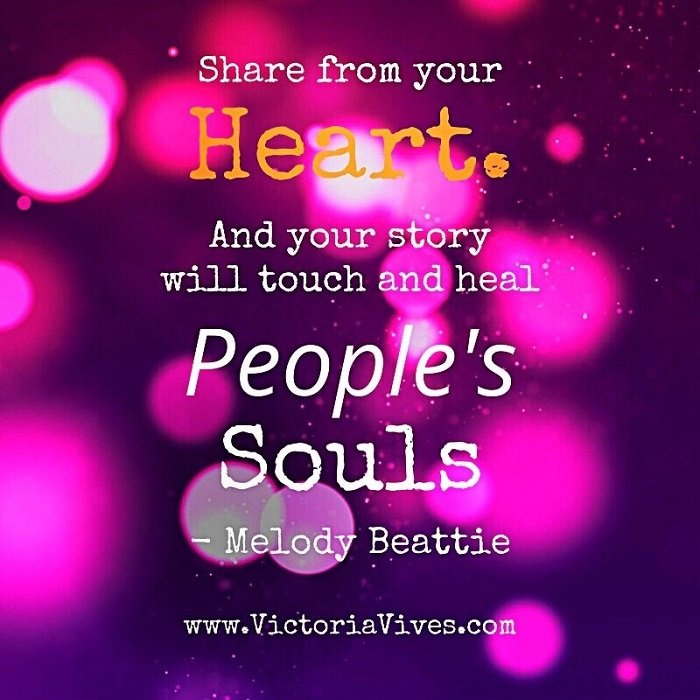 Victoria Vives - Share From Your Heart