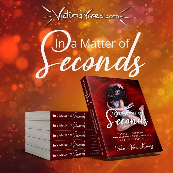 Victoria Vives - In a Matter of Seconds Upcoming Amazon Launch
