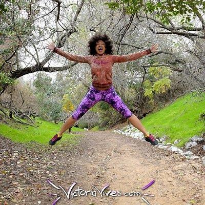 Victoria Vives - Wild Living Behind the Scenes Shots