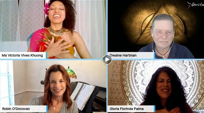Victoria Vives - Covid 19 Relief FREE ONLINE International Chanting for Hope and Healing!
