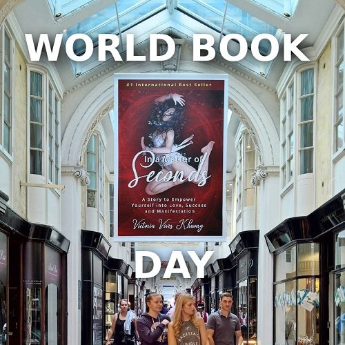 Victoria Vives - Happy World Book Day!
