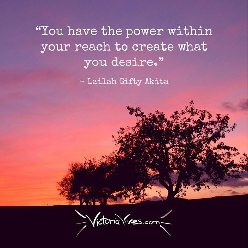 Victoria Vives - The Power Within You