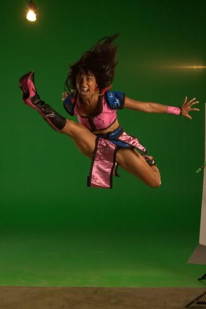 Victoria Vives Martial Arts - Flying Kick 1