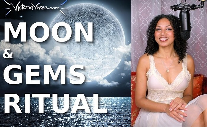 Victoria Vives Khuong - Full Moon Gemstones Crystals Ritual Women