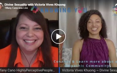 """Victoria Vives at """"Knowing You"""" with Tiffany Cano"""