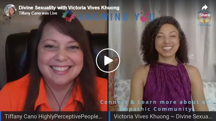Tiffany Cano interviews Victoria Vives at Knowing You