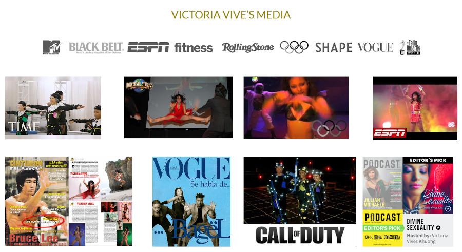 Victoria-Vives's-Media