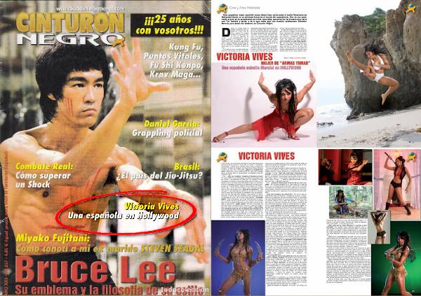 victoria vives cinturon negro magazine 2013