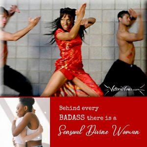 Badass to sensual