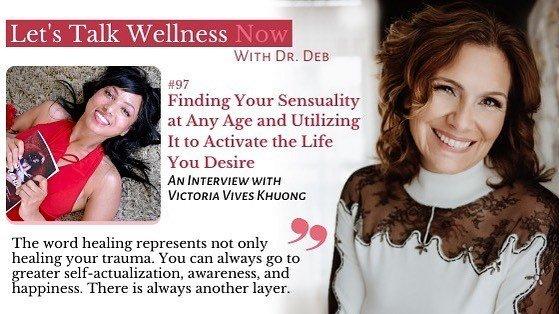 Victoria Vives at Let's Talk Wellness-