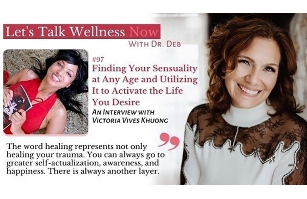 Victoria Vives at Let's Talk Wellness