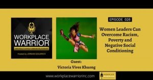 Victoria Vives at Workplace Warrior