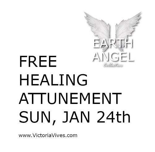 Free distance REIKI Healing Attunement with Earth Angel Collective