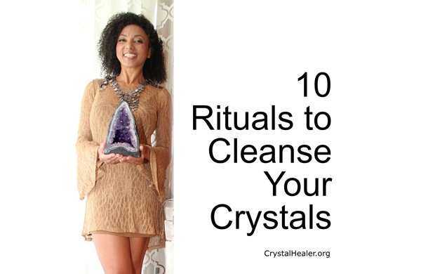 10 Rituals to Cleanse Your Crystals