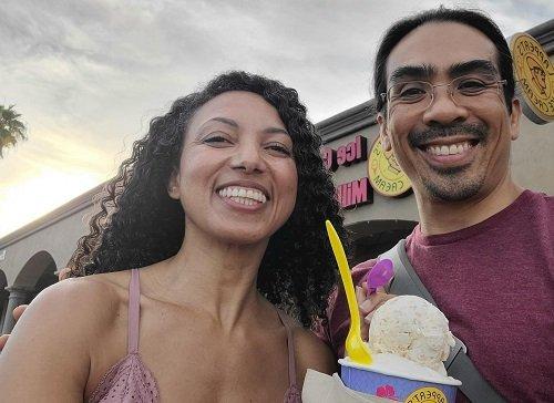 Palms Springs and Ice Cream